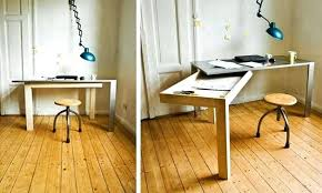 fold away office desk. Fold Away Office Desk Out Up Home U
