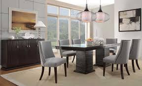modern formal dining room sets. Contemporary Formal Dining Room Sets In Dark Finish Modern I