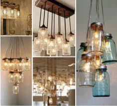 ball jar lighting. Ball Jar Lights Mason Lighting - Different Ways To Hang Them. I Love The Large Installation With