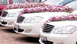 Wedding Car Decorations Accessories Venu's Wedding Car Decorations Kerala India 15