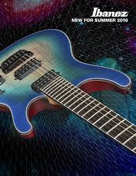 ibanez com ibanez electric guitar bass acoustic catalogs ibanez new for summer 2016 catalog