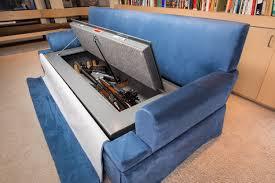 Woodmark Gun Cabinet Hidden Gun Compartment In Curio Cabinet Furniture Best Home
