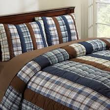 Hudson Plaid Quilt & Sham - traditional - kids bedding - PBteen ... & Hudson Plaid Quilt & Sham - traditional - kids bedding - PBteen Adamdwight.com