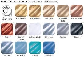 Rub N Buff Colors Chart Rub N Buff Rub Buff Metallic Paint