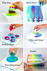 Pin by Priscilla Richards on Pour another one | Acrylic pouring art,  Pouring art, Painting crafts