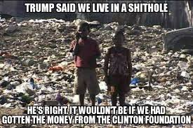 Image result for haiti shithole