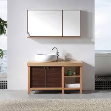 Single Vessel Sink Bathroom Vanity Wood Bathroom Vanity With Vessel Sink 48 Single Bathroom Vanity