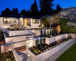 zen garden style excellent modern design concrete retaining wall ideas for attractive landscape concrete contemporary landscape