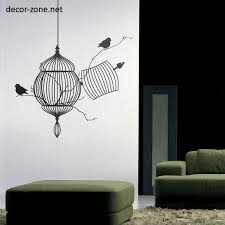vinyl wall stickers ideas for living room walls