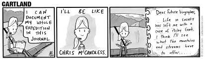 Chris Mccandless Diary Chris Mccandless Cartland
