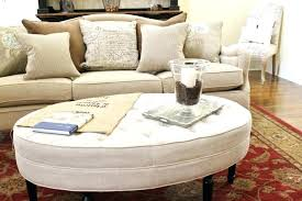 large fabric ottoman fabric ottoman coffee table