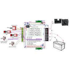 v v bi directional dc speed controller a control 25a pcb model bi directional wiring diagram