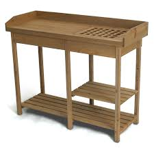 Potting Bench Potting Bench Outdoor Garden Work Bench Station Planting Solid