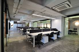 modern office space cool design. Cool Raw Office Design \u003e Open Work Area Opal Modern Office Space Cool Design