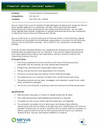 Personal Banker Resume Templates Investment Banker Resume Template Chase Personal Manager Principal 40