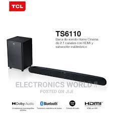 TCL Alto 6+ 240W 2.1ch Dolby Soundbar W/Wireless Sub–TS6110 in Adabraka -  Audio & Music Equipment, Emmanuel Annan