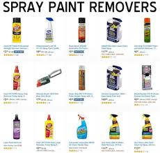 remove spray paint from a driveway