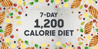 1,200 Calorie Diet Menu - 7 Day Lose 20 Pounds Weight Loss Meal Plan