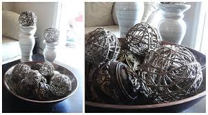 Decorative Orbs For Bowls jute twine hemp or YARN fabric stiffener OR Glue 60 part to 60 57