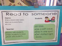 Anchor Chart Read To Someone Reading Anchor Charts Anchor