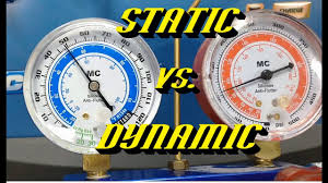 R134a Static Pressure Chart Ford A C Quick Tips 6 Never Use Static Pressures For Diagnosis