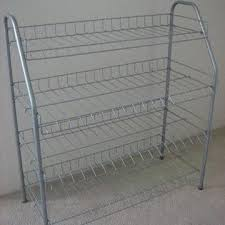 Powder Coating Rack China Shoe rack from Jiaxing Manufacturer Store Display Innovation 40