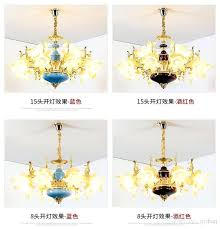 white flower chandelier modern white flower shape candle chandelier living room coffee crystal chandelier romantic white flower chandelier