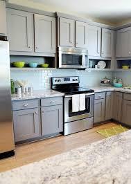 grey kitchen cabinet images