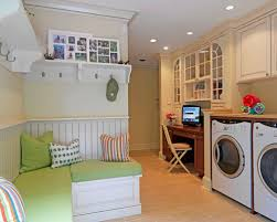 laundry room office. Inspiration For A Timeless Utility Room Remodel In DC Metro With Beige Cabinets Laundry Office L