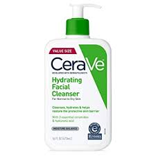 CeraVe Hydrating Face Wash | 16 Ounce | <b>Daily Facial Cleanser</b> for ...