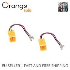 radio stereo speaker wire harness adapter adaptor plug for alfa image is loading radio stereo speaker wire harness adapter adaptor plug