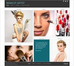 makeup artist templates 30 best free beauty templates and themes