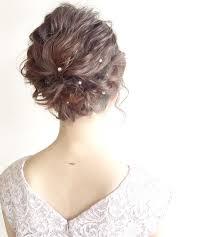 ボブの結婚式ヘアは巻くだけでok困ったときのスタイリング法hair