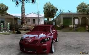 Toyota Camry car Tuning 2010 for GTA San Andreas