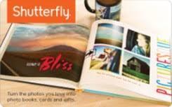 Free Shutterfly $25 Gift Card - Rewards Store   Swagbucks