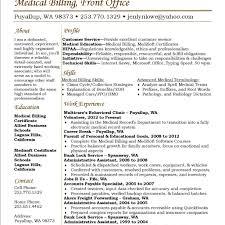 Medical Coding Resume Sample Medical Billing And Coding Sample Resume Template Free Resumes 21