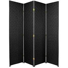 office partition dividers. Oriental Furniture Low Cost Home Office Partition Divider, 6-Feet Woven Fiber Room Divider Dividers