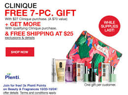 macys free clinique 7 piece gift set with purchase plus