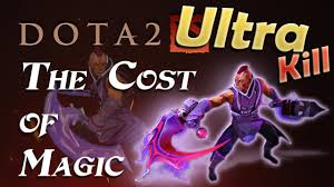 dota 2 the cost of magic youtube