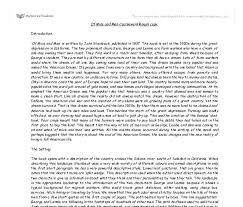 of mice and men character essay pla of mice and men character essay plan