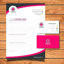 Letterhead Designs Templates Business Cards Templates Photoshop Free Download Letterhead Template