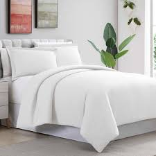 amrapur overseas 3 piece ultra plush solid white full queen duvet set 3d100mfe wht qn the home depot