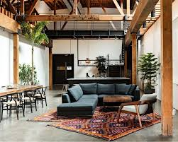 place a rug under a sectional sofa