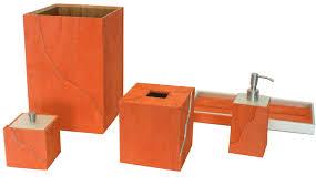 Dark Wood Bathroom Accessories Burnt Orange Bathroom Accessories