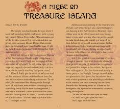 treasure island essay