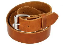 full grain one piece heavy duty leather belt work belt belt 1 1 2 wide 38mm cognac