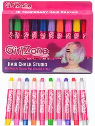 Hair Chalks Christmas Gift 10 Colorful