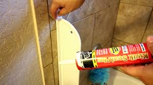 installing a bath tub splash guard