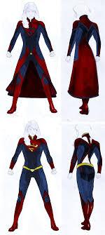 Superhero Costume Design Smallville Season 11 Supergirl Costume Design By Gattadonna