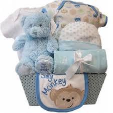silly monkey gift basket boy